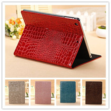 Fashion High Quality Slim Crocodile Leather Case for iPad Mini 1/2, Smart Cover for Apple iPad Mini 2 mini 3 with Retina Display(China (Mainland))