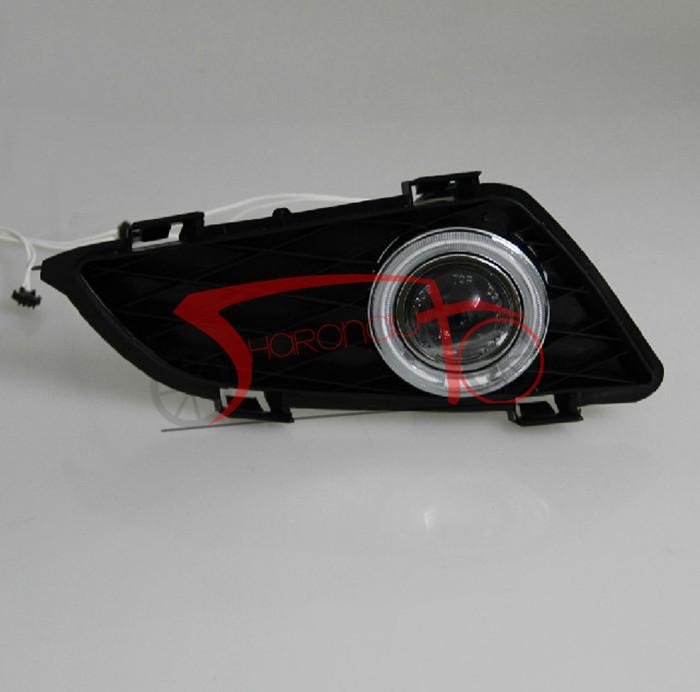 2pcs White Led Daytime Running Light Drl Fog Lamp For Mazda 6 2005 2008: Led Headlight Bulbs Mazda 6. 2003 To 2013 Year For Mazda 6 Led Strip Headlights Led. 2pcs Car