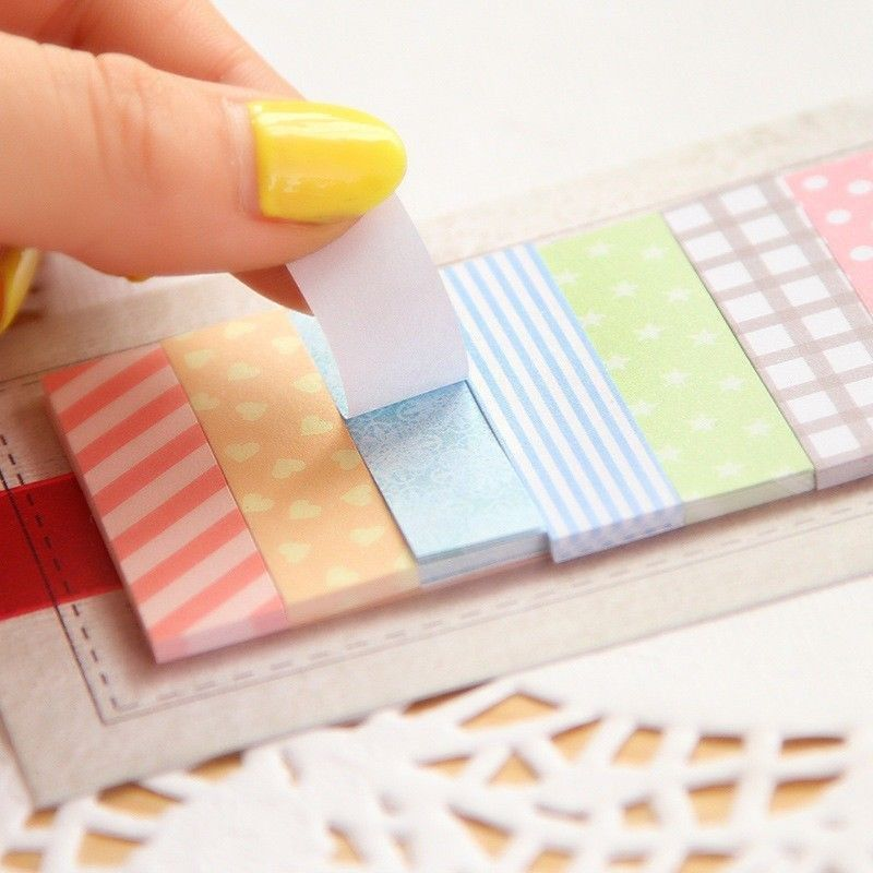 Гаджет  Direct Selling Real Cute Kawaii 160 Pages Sticker Post It Bookmark Point Marker Memo Flags Sticky Notes Scrapbooking Paper None Офисные и Школьные принадлежности