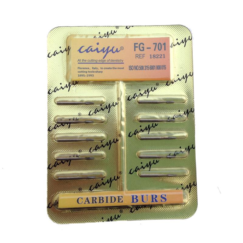 Dental Lab 10 Pieces/Pack Dental Tungsten Steel Carbide Burs For High Speed Handpiece Bit Free Shipping(China (Mainland))
