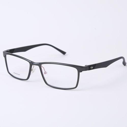 Fashion Glasses Frame 2016 Men Optical Frame Eyeglasses Clear lens Reading for Computer Myopia Aluminium Frame Popular Male 104(China (Mainland))