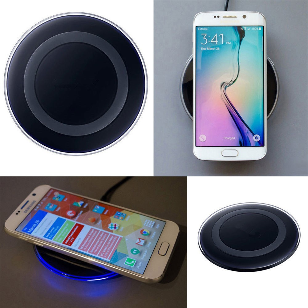 Qi Wireless charger Original EP-PG920I Phone Charging Pad For SAMSUNG GALAXY S6 S6 Edge S7 S7 Edge Note5 Note 7 all Qi devices
