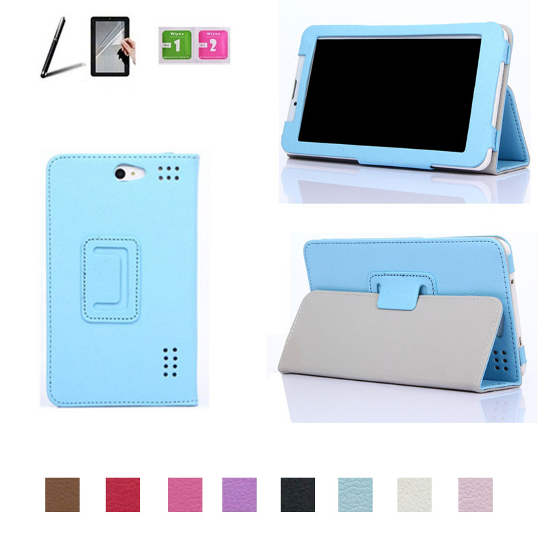 for bb-mobile Techno MOZG 7.0 (I700AJ) 7 Inch Tablet PU Leather Cover Case 8 Colors +Stylus Pen + Screen Protector Free Shipping(China (Mainland))