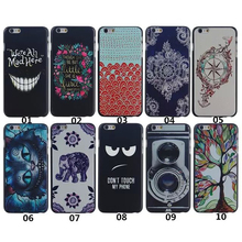 2016 New high Arrival Hot PC Hard Transparent Phone Skin Back Case Cover For Apple iPhone 6 6S iPhone6 4.7 1Piece Free shipping