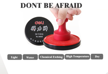 Red Ink Pad Inkpad Rubber Stamp Finger Print Craft Non-Toxic office financial seal tool Free Shipping ODS002(China (Mainland))