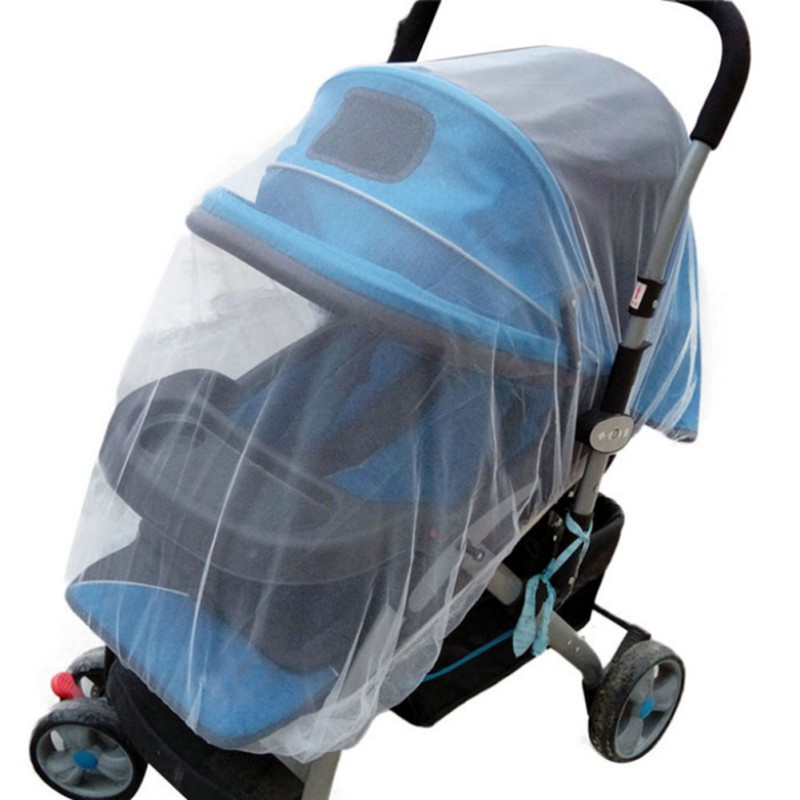 New Baby Buggy Pram Mosquito Net Pushchair Stroller Fly Insect Protector Cover