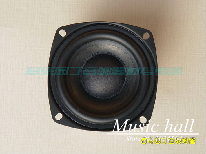 Music Hall 2.5 inch Hi-Fi Desktop Full-range Speaker High sensitivity speaker 4ohm / 8ohm For Music Lover DIY Free Shipping<br><br>Aliexpress