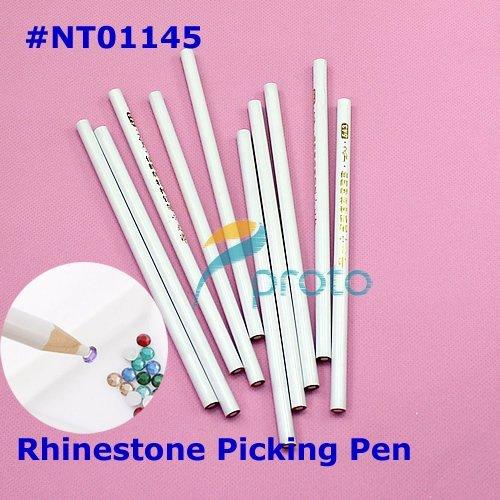 20pcs Nail Art Rhinestones Gems Picking Tools Pencil Picker Pen Dropshipping Retail SKU:F0099X