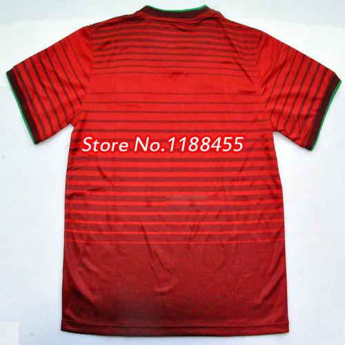 CRISTIANO RONALDO Jersey soccer 2014 Portugal NANI Soccer Jerseys Portuguese Red Football Shirt Player Version(China (Mainland))