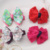 New Colorful Ribbon Baby Hair Clips Hollow Bow Hairpins Children Hair Accessories Circle Protect Well Wrapped Flower Barrettes