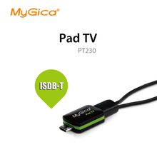 isdb t receiver Geniatech MyGica Pad TV tuner Watch  ISDB-T or DVB-T on Android Phone/Pad PT230 usb tv tuner(China (Mainland))