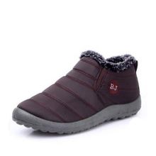 KHTAA 방수 암 Shoes 겨울 Unisex Ankle Boots Women's Skid Plus Size 눈 Boots Warm 봉 제 몇 Style 면 캐주얼(China)