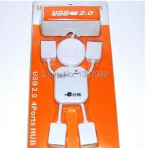 free ship Figure USB splitter USB hub splitter four in 1 USB cable 2 0 2
