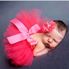 Newborn photography props tutu skirt sets baby photo props ball skirt princess baby costume photography bowknot newborn photo(China (Mainland))