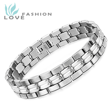 Free shipping hot  Sale new fashion boutique watch chain model 316 stainless steel bracelet  TS3063MK