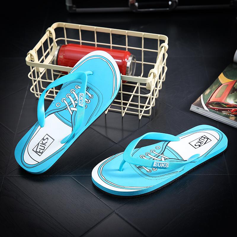 designer flip flops 4qko  Designer Flip Flops Men Fashion Shoes 2017 New Spring,Summer  Footwear,Comfortable Beach Breathable