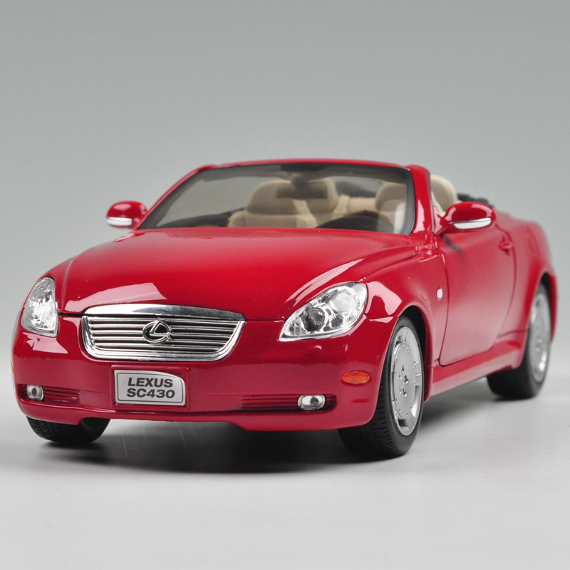 Brand New WELLY 1/18 Scale Car Model LEXUS SC430 Diecast Metal Car Model Toy For Collection/Gift/Kids/Decoration(China (Mainland))