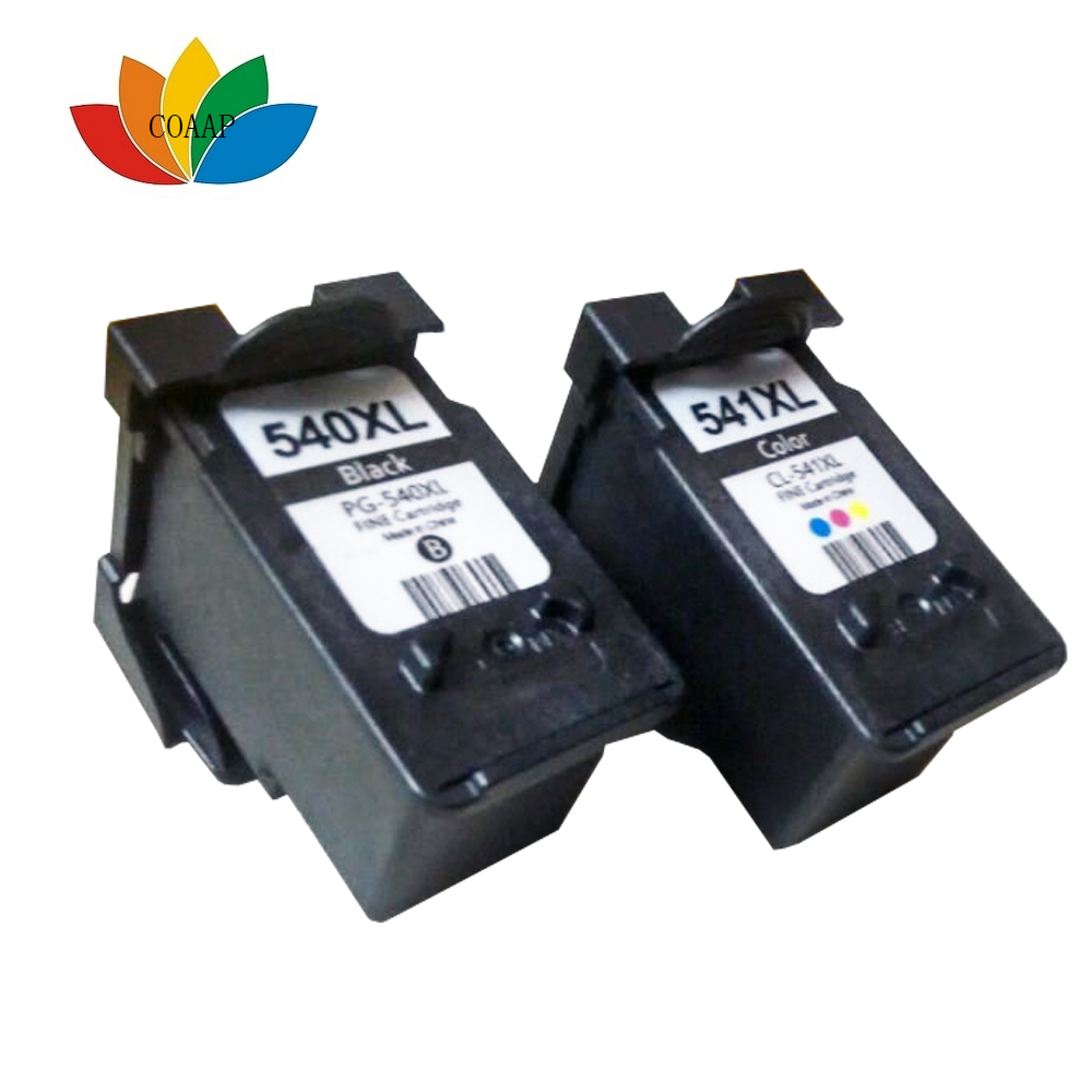 2x printer cartridge canon pg 540 xl 541 xl cl pixma mx395 mx475 mx525 mg3550 in ink cartridges. Black Bedroom Furniture Sets. Home Design Ideas