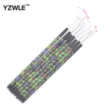 YZWLE 7Pcs/Pack DIY Nail Art Acrylic UV Gel Design Brush Painting Drawing Pen Tips Tools Kit 39 - Guang Zhou Magicfly Beauty & Health Products Co., Ltd. store