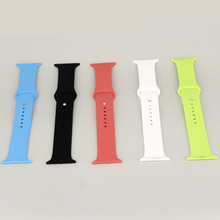 ZJM For Apple Watch Sport Band 42mm Silicone fluoroelastomer With Aluminum Case 1 1 original For