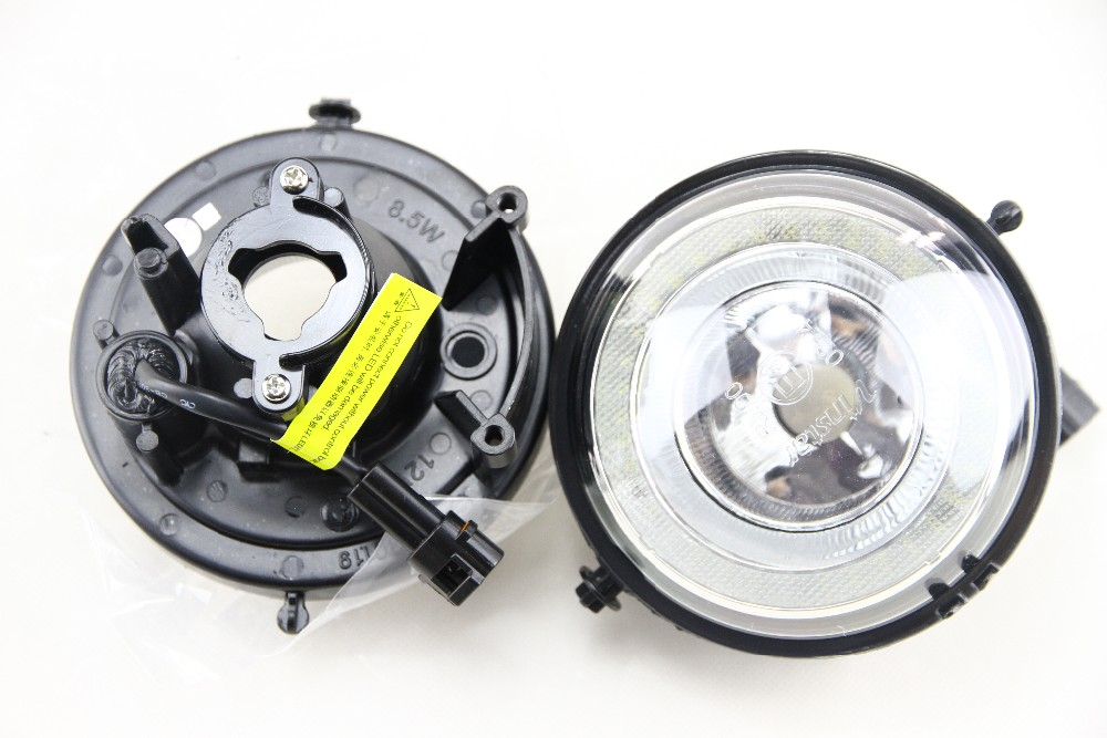 Exact Fit High Power Halo angel eyes Style LED Daytime Running Lights Fog  Lamps Assembly For MINI Cooper R55 R56 R57 R58 R60 R61 - us204