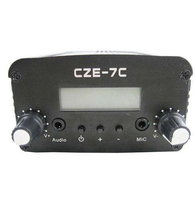 wholesale 10PCS czh-7c 7W FM stereo PLL broadcast transmitter(China (Mainland))