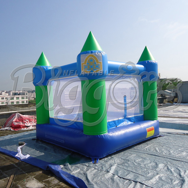Cheap Inflatable Bouncer Inflatable Jumping House Bouncy Castle With Air Blower(China (Mainland))