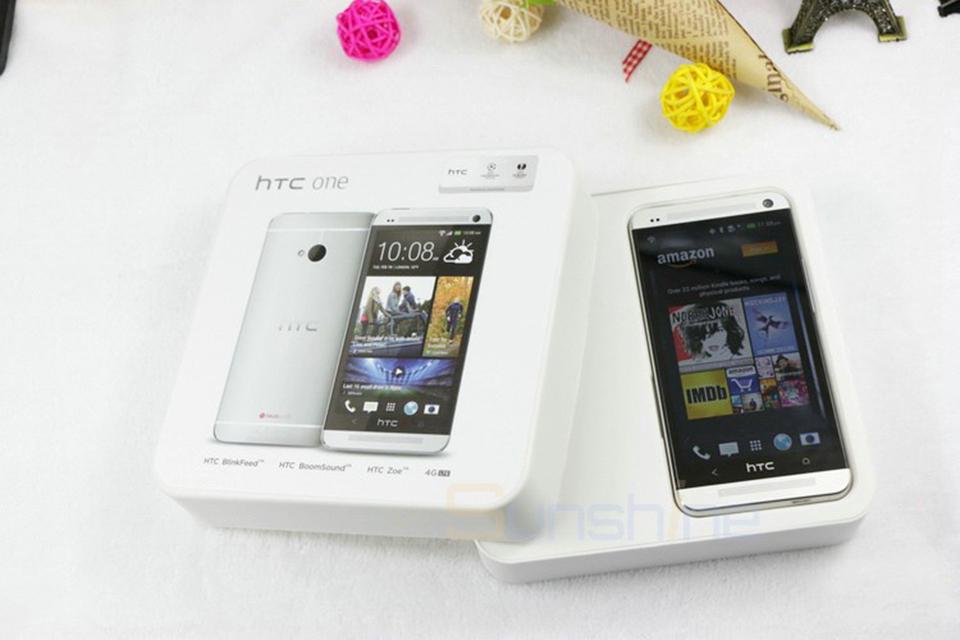 Unlocked Original HTC One M7 Mobile Phone 4.7″ Qualcomm Quad Core Smartphones 2G RAM 32GB ROM Refurbished Phone LTE Cell Phones