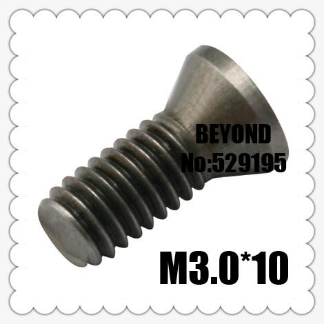 50pcs M3 0 10mm Insert Torx Screw for Replaces Carbide Inserts CNC Lathe Tool
