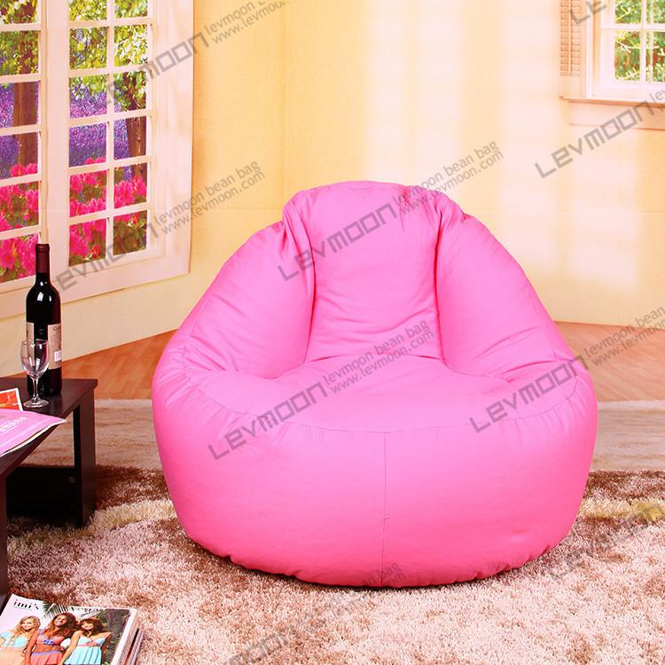 FREE SHIPPINGpink bean bag chair bean bag couch 100CM diameter pink bean bags 100% cotton canvas pink bean bag store(China (Mainland))