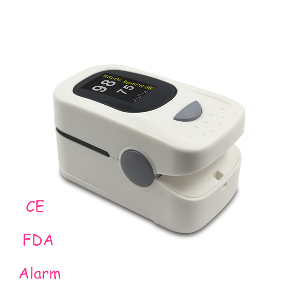 Beep and Alarm!! 2015 new medical portable pulse oximeter tests the oximeter and heart rate through a finger(China (Mainland))