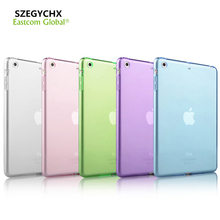 2017 New Arrival Tablet Case For Apple iPad Mini 4 Cases Crystal Clear Transparent Silicon Ultra Thin Slim TPU Soft Case Cover(China (Mainland))