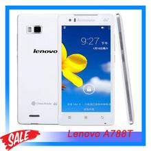 """Original Lenovo A788T 5.0"""" Android 4.3 Smartphone Marvell PXA1920 Quad Core 1.2GHz RAM 1GB+ROM 8GB GSM Network Dual Camera"""