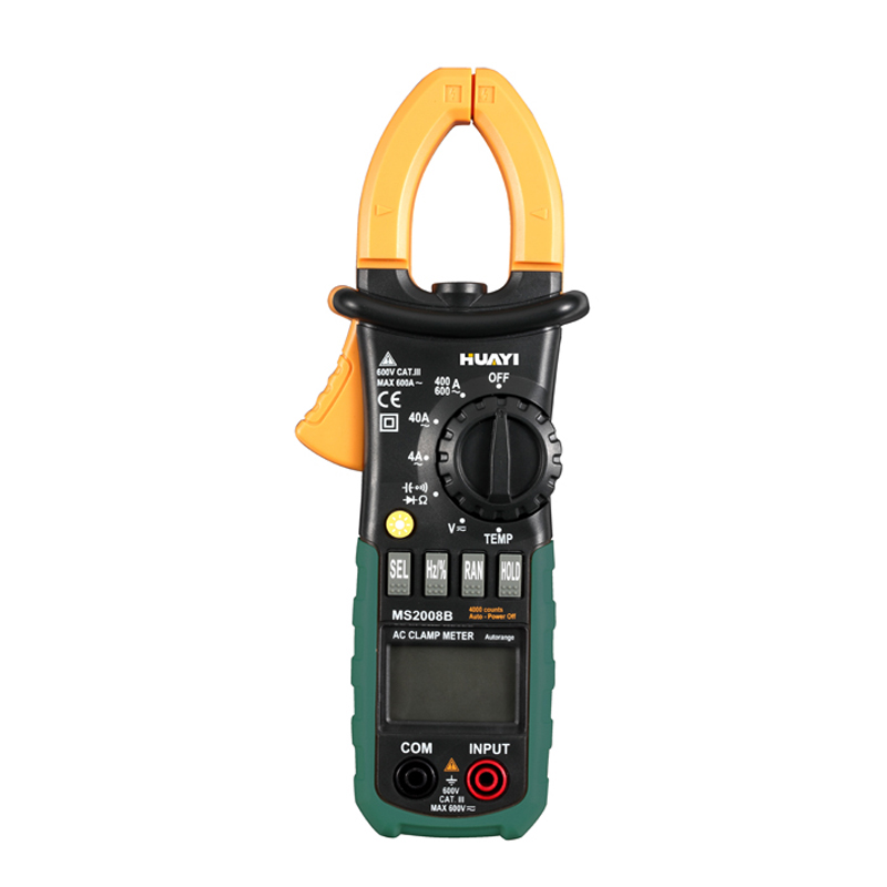 Professional HuaYi MS2008B Auto Range Digital Clamp Meter Amper Clamp Meter Current Clamp Pincers AC Current Multimeters от Aliexpress INT