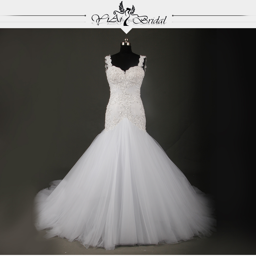 Buy sexy backless ivory lace mermaid for True mermaid wedding dresses