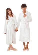 Coral Fleece Loose Long Sleepwear Robes Bathrobe Unisex Women Men 8 Colors L-XXL H0799(China (Mainland))