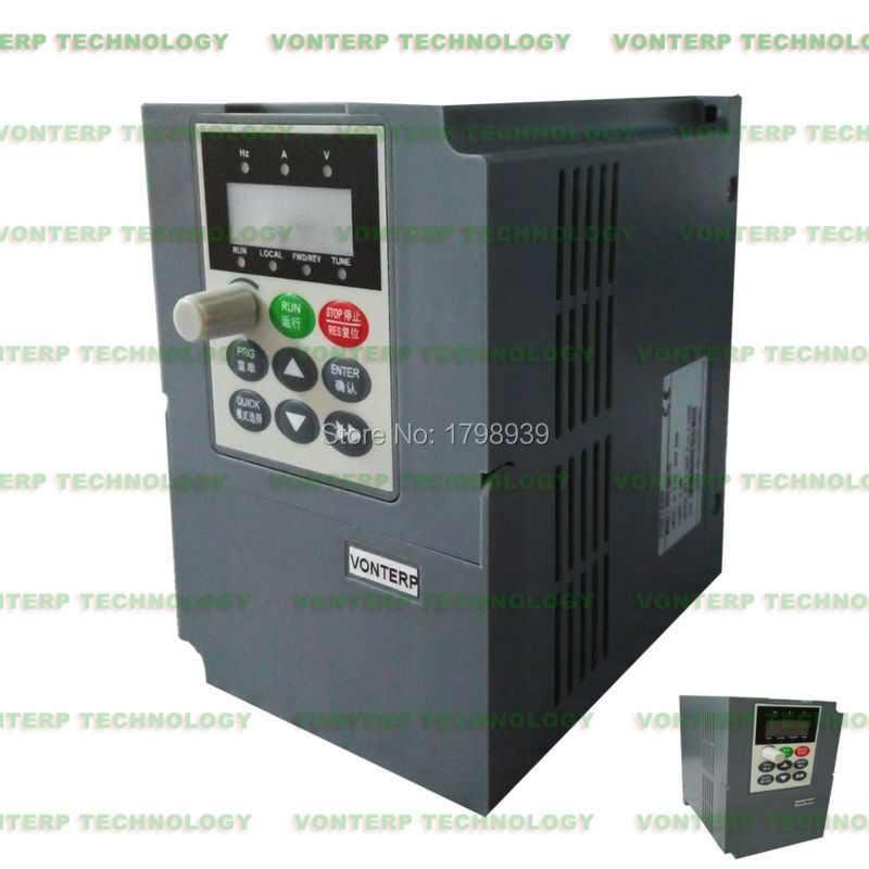 Frequency Inverter 1500w (1.5 KW) Power 380V Variable Frequency Drives (VFD) for 1.5 KW ac Motor Speed Control(China (Mainland))