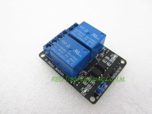 Buy Free 10PCS/LOT 5V 2-Channel Relay Module 2 Channel Shield Arduino ARM PIC AVR DSP Electronic 100% new original for $10.58 in AliExpress store