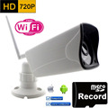 Wifi Ip Camera 720p HD Support Micro SD Card Waterproof CCTV Security Wireless Mini Camara P2P
