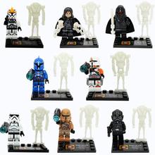 DLP9018 Building Block Super Heroes Star Wars Minifigures Storm Trooper/Shadow Guard/Tie Fighter Pilot Bricks Action Mini Figure