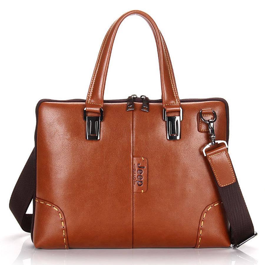 brand men messenger bags genuine leather business men shoulder bag England Style men briefcase Laptop bag handbag for man(China (Mainland))