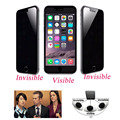 Privacy Anti Spy Tempered Glass Screen Protector Shield Premium Protective Guard Film for IPhone 4 4s