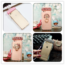 Simulation Baby Milk Bottle Transparent Silicon TPU Case For iPhone 4/4s 5/5S/  6  6S 4.7  6plus 6S plus 5.5 Cover Phone cases(China (Mainland))