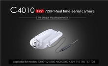 Original MJX C4010 720P FPV Camera Real Time Aerial Camera Set for MJX X101 X800 X600 X500 X400 V2 RC Quadcopter Spare Parts