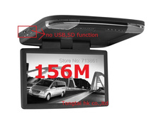 15.6 inch super slim car Roof mounted Monitor,English,it can work with other car dvd player(China (Mainland))