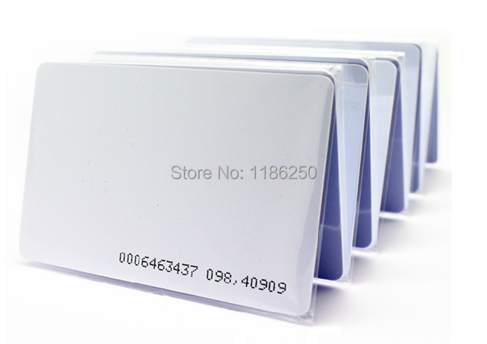 Good Quality Assurance EM ID CARD RFID CARD 4100/4102 reaction 125KHZ RFID Card ID Card Fit for Access Control Time Attendance(China (Mainland))