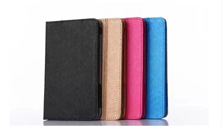 For xiaomi mipad 2 Prime Mi Pad 2 7.9 inch Tablet Cases Silk Pattern PU Leather Case Cover with free gift