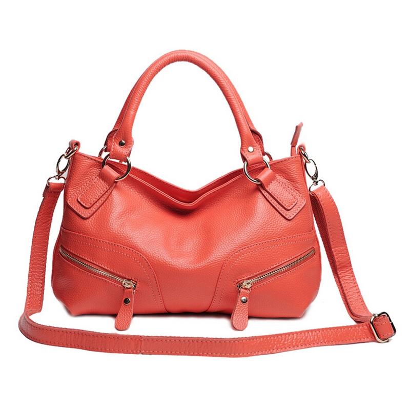 ON SALE 100% Real Genuine Leather Women handbags fashion Design crossbody shoulder bags Female Purses Portable satcchels BH8878<br><br>Aliexpress