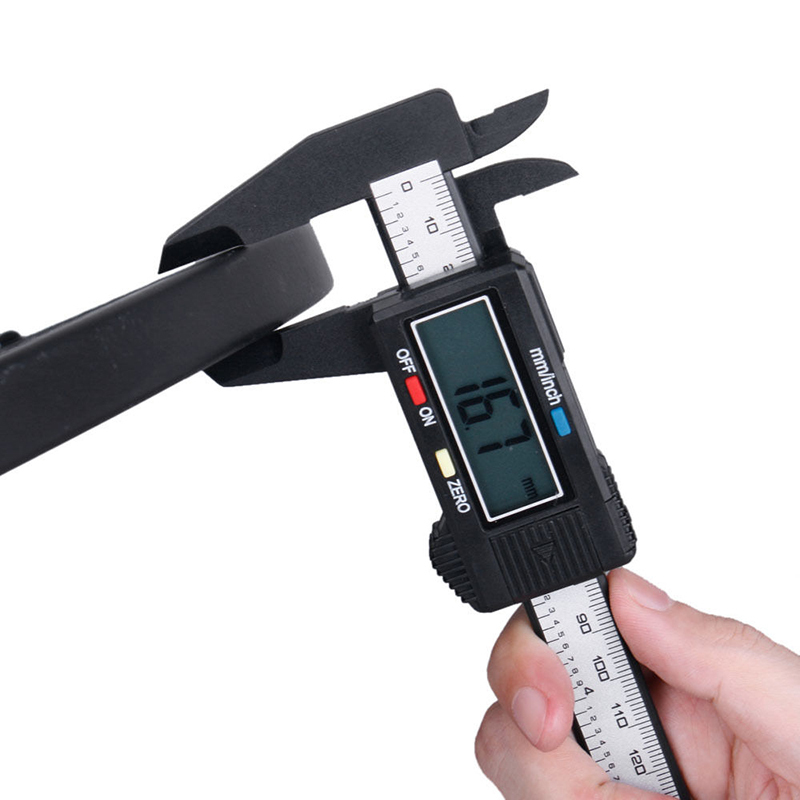 2015 Carbon Fiber Composite 6 inch 150 mm Vernier Digital Electronic Caliper Ruler ZH278