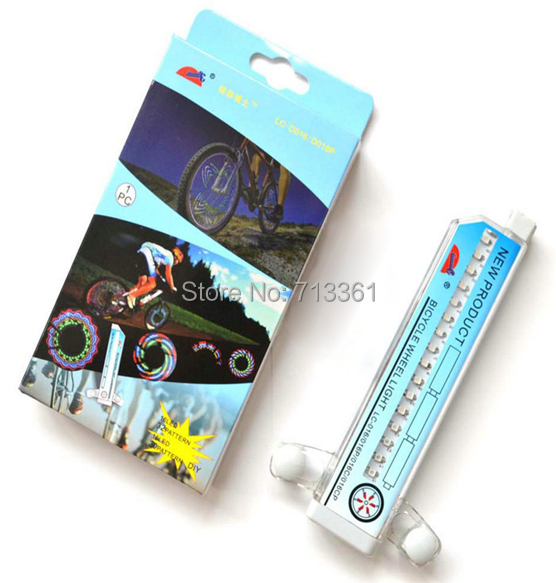 Colourful Programmable Colorful Bicycle Wheel Light Bike Cycling Sensor Movement Waterproof - 008 Store store